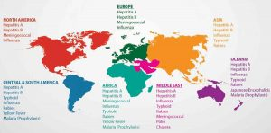 Different travel vaccinations to cater all continents across world conducted at Territory Medical Group