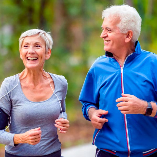 A old couple enjoying a run, Chronic Disease Management by GPs in Territory Medical Group