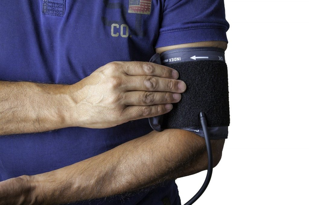 Blood pressure check, a practice often made when visiting your local general practice, Doctors in Darwin