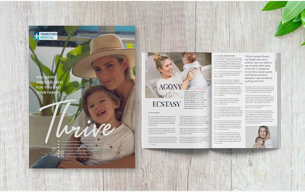 Thrive Magazine Issue 4 for health and wellbeing information